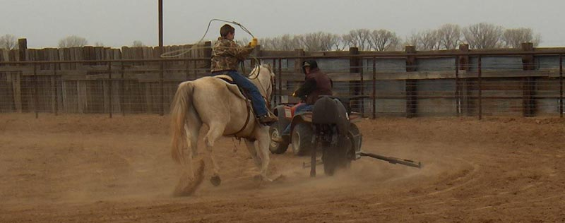 Roping clinic photo
